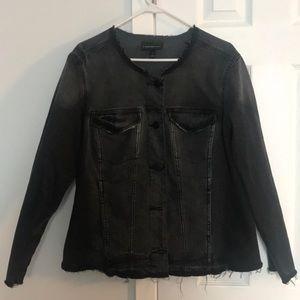 Lane Bryant black jean jacket